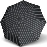 Knirps Taschenschirm T.200 Duomatic - stabil und sturmfest - Justin - grey