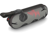 Knirps X1 Super Mini Taschenschirm im Etui - Christina - grey