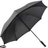 iX-brella Automatik XXL Golfschirm mit farbigem Gestell aus Fiberglas - schwarz