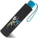 Scout Kinder-Taschenschirm mit reflektierenden Streifen Goal