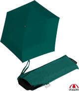 Doppler Damen Taschenschirm Mini Carbonsteel Slim Uni - evergreen