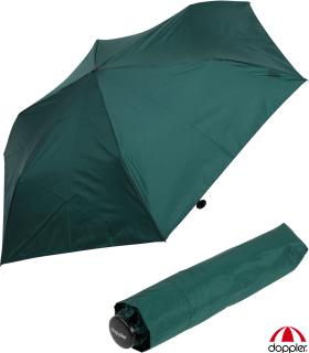 Doppler zero,99 extrem leichter Mini Damen Taschenschirm - evergreen