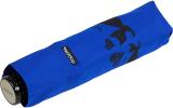 Doppler Mini Taschenschirm Havanna Fancy Cat´s - blau