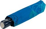 Doppler Damen Taschenschirm mit Auf-Zu-Automatik Magic Fiber Barcelona - navy