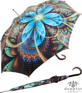 Doppler Manufaktur Stockschirm VIP Damen Elegance Boheme Oriental Blossom