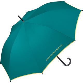 Benetton Stockschirm Long AC - Fanfare Green