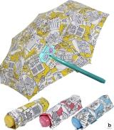 Bisetti Paint Super Mini Taschenschirm zum Ausmalen Travel
