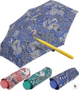 Bisetti Paint Super Mini Taschenschirm zum Ausmalen Floral