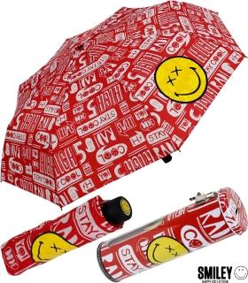 Smiley World Taschenschirm mit Spardose Stay Cool
