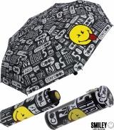 Smiley World Taschenschirm mit Spardose Stay Cool - schwarz