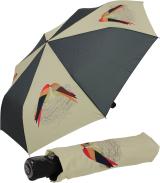 Regenschirm Taschenschirm Mini mit Auf-Zu-Automatik Love...