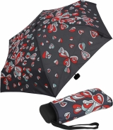 Regenschirm Super Mini Taschenschirm Ultra Light Hearts