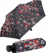 Regenschirm Super Mini Taschenschirm mit Auf-Zu-Automatik...