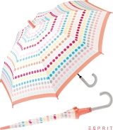 Esprit Stockschirm mit Automatik Happy Dots