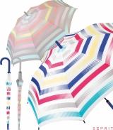 Esprit Stockschirm mit Automatik Summer Stripes